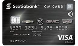 Gm Credit Card >> Gm Visa Infinite Credit Card