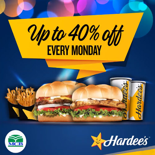 hardees lahore branches
