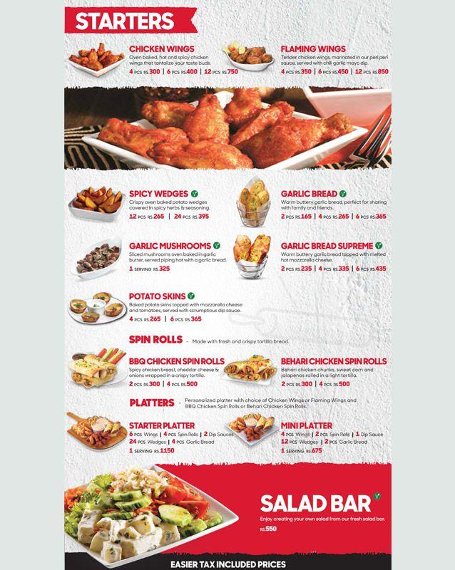 Pizza Hut Menu In Islamabad Rated 3 4 November 2020 Peekaboo Guru
